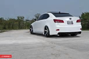 vossen lexus is350 on vossen vvs cv3 wheels cars