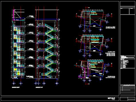 exit layout view autocad project fire escape dwg full project for autocad designs cad