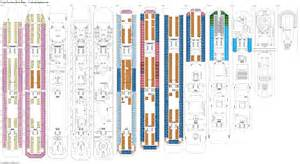 deck plan costa favolosa deck plans diagrams pictures