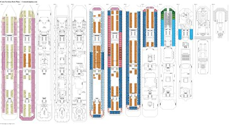 costa favolosa cabine costa favolosa deck plans diagrams pictures