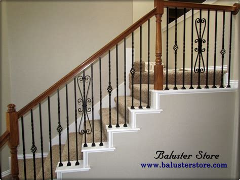 Wrought Iron Stair Balusters Iron Balusters For Stairs And Balconies Balusterstore1