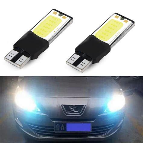 led backup light bulbs 1pcs t10 led 194 168 w5w cob interior light parking