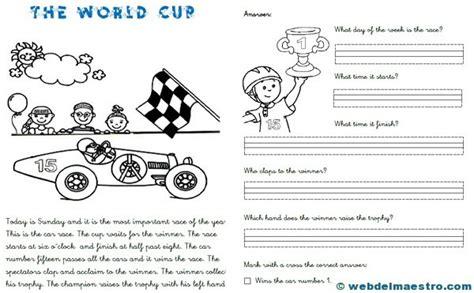 lecturas en presente simple con preguntas ejercicios ingl 233 s primaria web del maestro