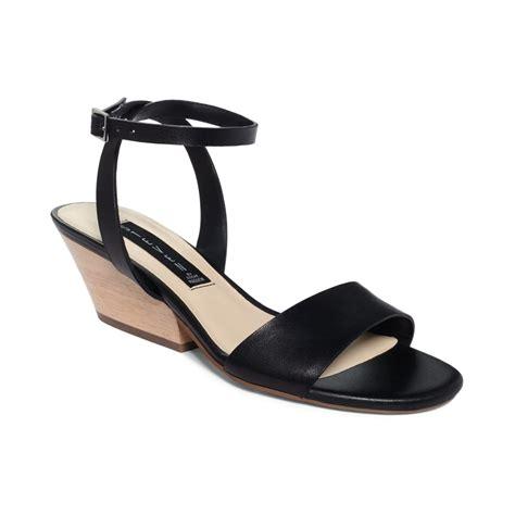 black ankle sandal steven by steve madden ankle caleyy sandals in black