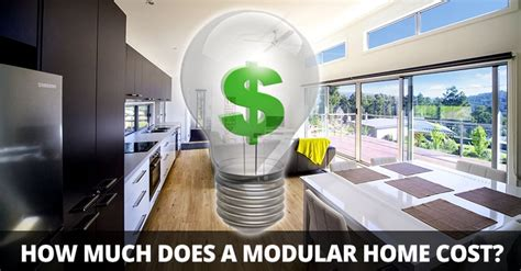 how much do manufactured homes cost how much does a modular home cost