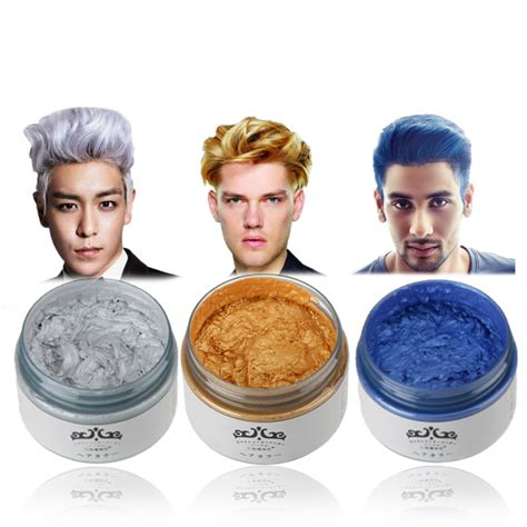 color wax japan hair color wax instant hair colour wax high quality