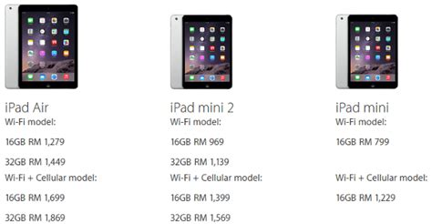 Mini 3 Malaysia apple malaysia drops air and mini price now