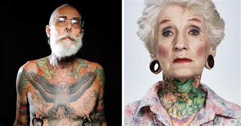 tattoos on old people 22 tattooed seniors answer the eternal question how will