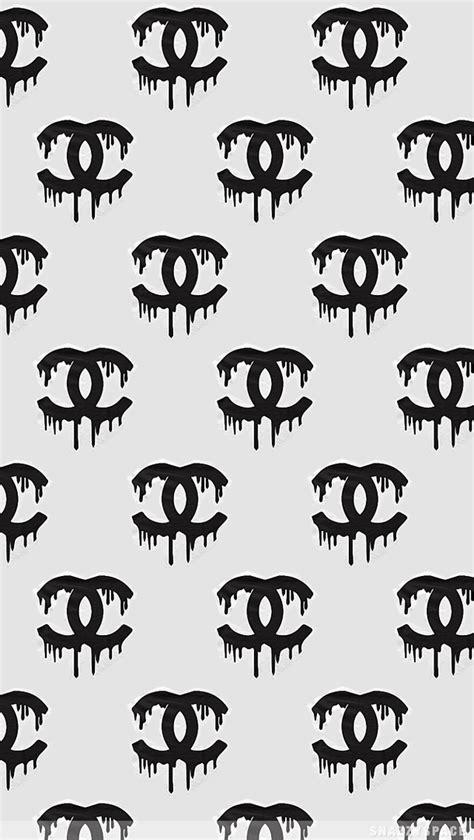 pattern logo chanel http background kidcom chanel tumblr iphone