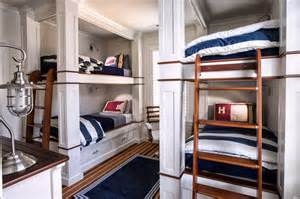 Nautical Themed Bedroom Curtains Delorme Designs Nautical Bunk Beds