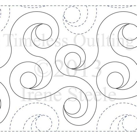 quilting paper templates spiral rings paper version spiral leaves and ring
