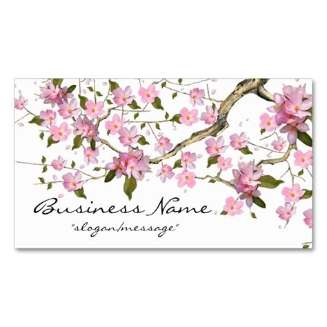 cherry blossom tree card template 1000 images about tree business cards on