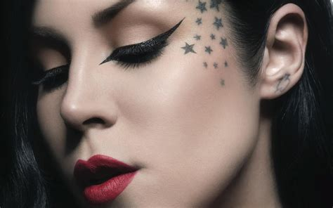 kat von d tattoo makeup with d najla g 252 n