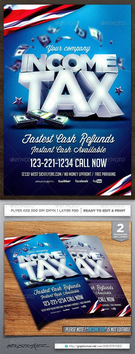 Income Tax Flyer Template Flyer Template Template And Edit Text Tax Flyer Templates Free