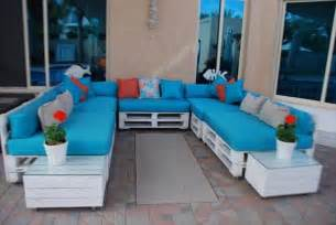 U Shaped Outdoor Chair Cushions Diy Pallet Living Room Sitting Furniture Plans 99 Pallets