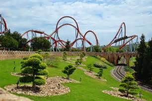 World Portaventura World S Beautiful Places Portaventura Theme Park