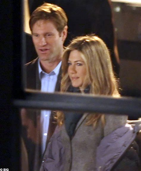 When Did Aaron Eckhart Become The Of Cole Haan by Is Aniston More Than Just Friends With