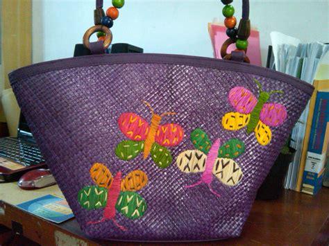 Tas Kulit Handel Besar Camel tas keren batik nyi laos