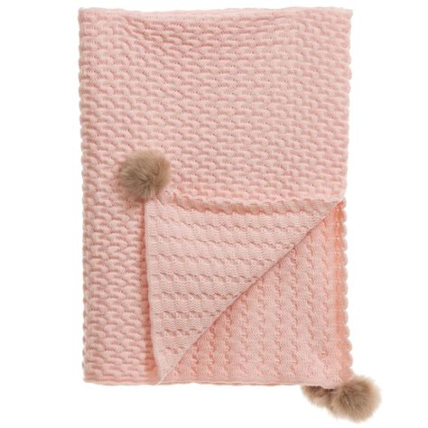 pink cable knit blanket mebi baby pink cable knit blanket 95cm