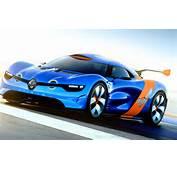 Blue Sportscar Sports Car