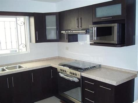 cocina negro  blanco opaco cocinas