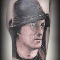 Sylvester Stallone Tattoo Pictures To Pin On Pinterest