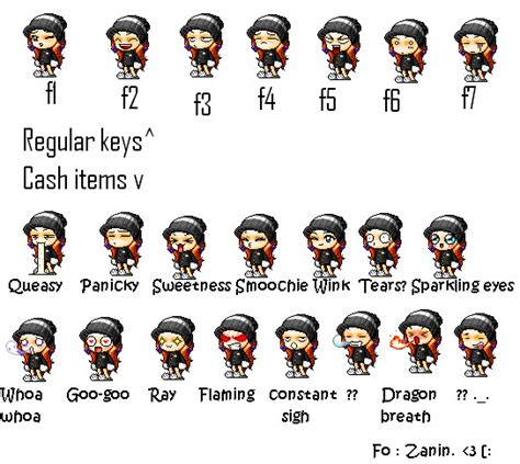 all maplestory faces maplestory smilies keys by ibakashii on deviantart