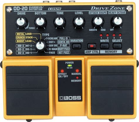 drive zone boss od 20 drive zone image 712431 audiofanzine