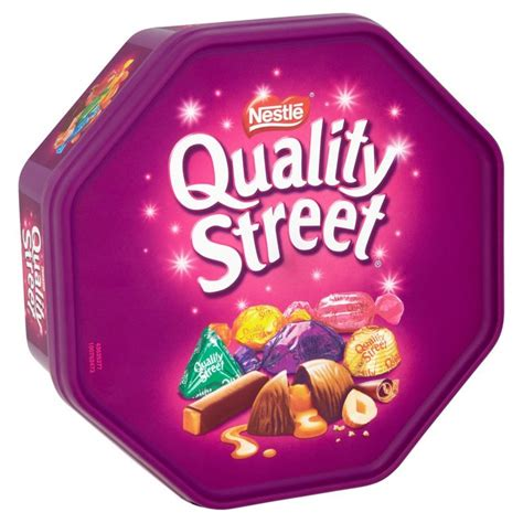 product of the streets morrisons quality street tub product information