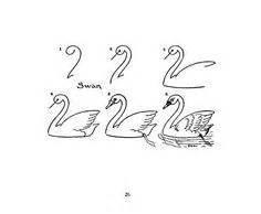 tutorial menggambar unggas how to draw a swan step by step birds animals free