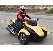 Out On The Road Spyder Feels Most Like An ATV When Is Comes To