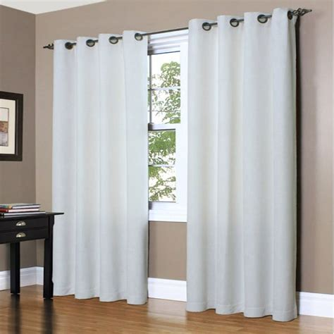 nantucket curtains nantucket white cotton twill insulated thermalogic grommet
