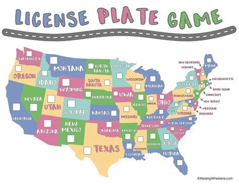 Printable Paper License Plates