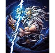 Poseidon The Second God Of Trinity Wields Trident Much Like