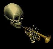 Spooky Skeleton Trumpet