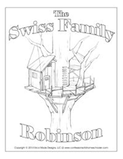 coloring pages for swiss family robinson swiss family robinson robinson crusoe and coloring pages