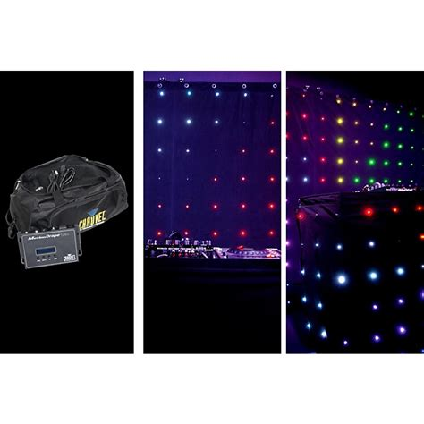 chauvet motion drape chauvet motion drape tri color led 2x3 meters musician s