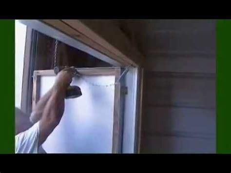 build  shed door  metal trim youtube