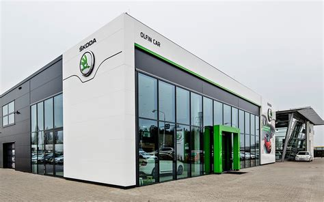 Garage Lighting Design the new face of the koda dealer network koda