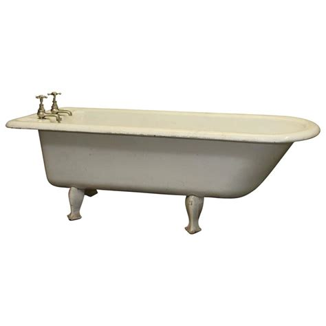long bathtubs 7 foot 1800s unique 6 5 foot long english claw foot bathtub with
