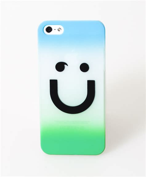 Smile Iphone 55s Smiley Cover Med Bl 229 And Gr 246 N F 246 R Iphone Iphone 5 5s