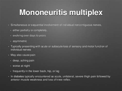 multiplex definition neuropathies