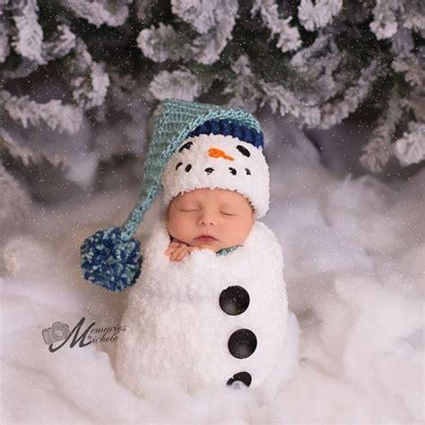 pattern photography ideas crochet newborn snowman hat and cocoon pattern amk crochet