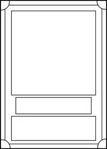 Trading Card Template Word by Trading Card Template Front By Blackcarrot1129 On Deviantart