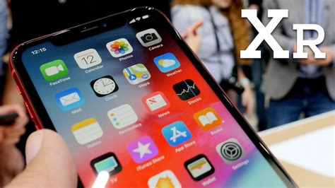 omg the iphone xr display is