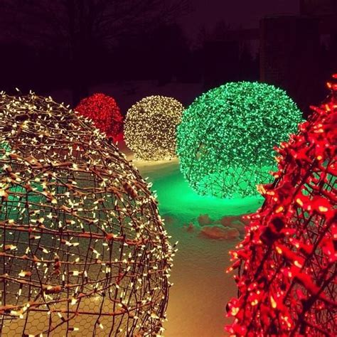How To Make Christmas Light Balls Happy Snow And Christmas Make Light Balls