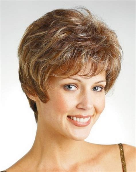 best hairstyle for middle aged roundish face fine hair short haircuts for middle aged women