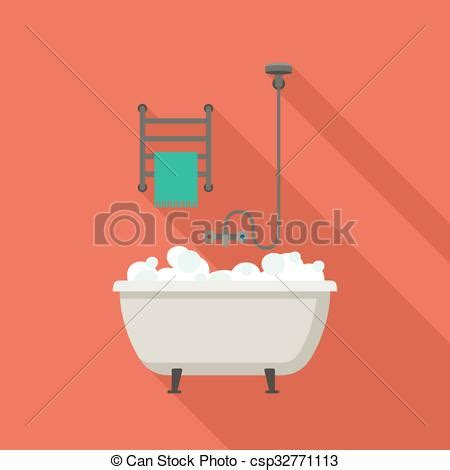 bathtub illustration bath flat illustration bathtub flat illustrations with vector clip art search