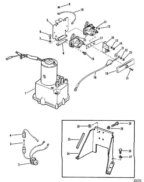 mercruiser alpha one outdrive parts diagram hydraulic and bracket pretolite for mercruiser r
