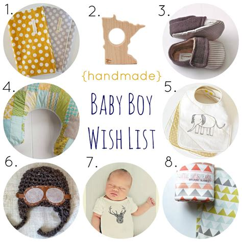 Handmade Baby Items That Sell - handmade baby wish list